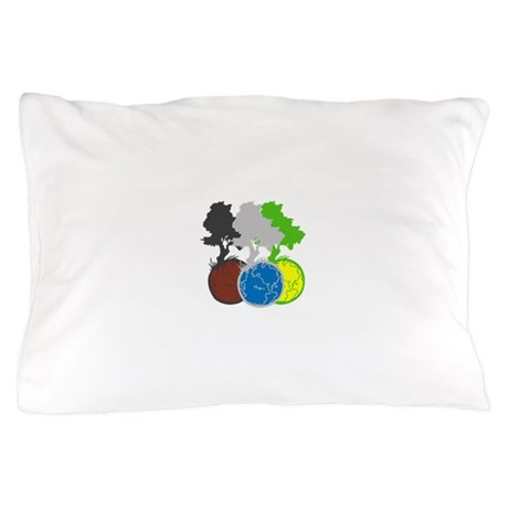 OYOOS Trees Earth design Pillow Case