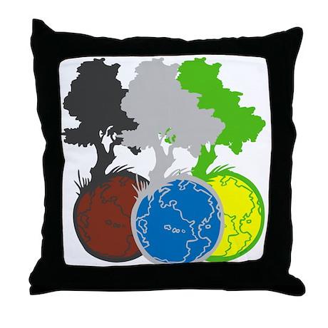 OYOOS Trees Earth design Throw Pillow