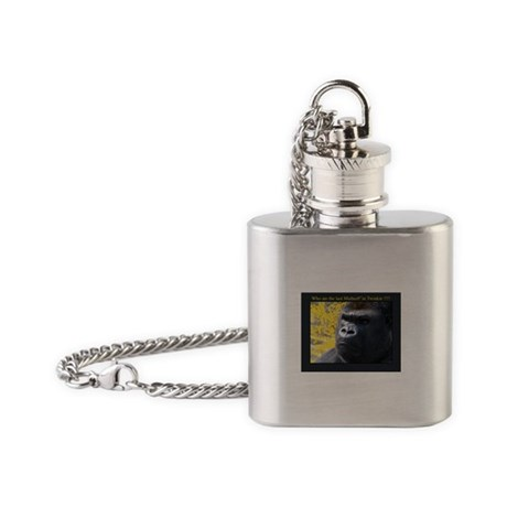 Who ate the last MutherF'in Twinkie!!!! Flask Neck