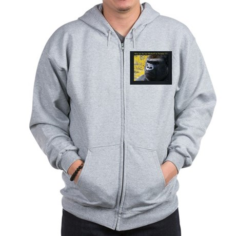 Who ate the last MutherF'in Twinkie!!!! Zip Hoodie