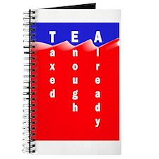 Tea on Sea of Red Ink Journal
