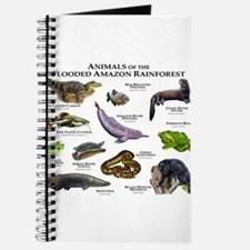 Animals of the Flooded Amazon Rainforest Journal