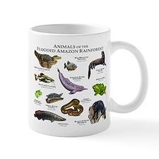 Animals of the Flooded Amazon Rainforest Mug