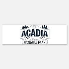 Acadia National Park Bumper Bumper Sticker