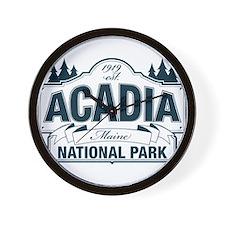 Acadia National Park Wall Clock