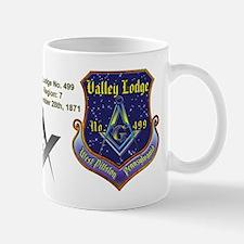 Valley Lodge No. 499 Custom Masonic Small Mug