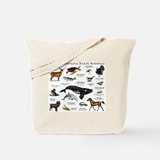 South Carolina State Animals Tote Bag
