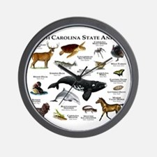 South Carolina State Animals Wall Clock