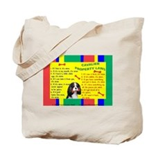 Unique Cavalier king charles Tote Bag