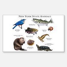 New York State Animals Decal