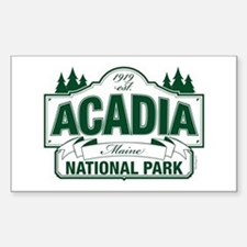 Acadia National Park Sticker (Rectangle)
