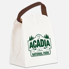 Acadia National Park Canvas Lunch Bag