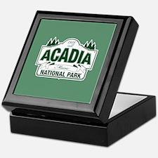 Acadia National Park Keepsake Box