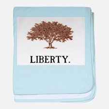 The Liberty Tree baby blanket