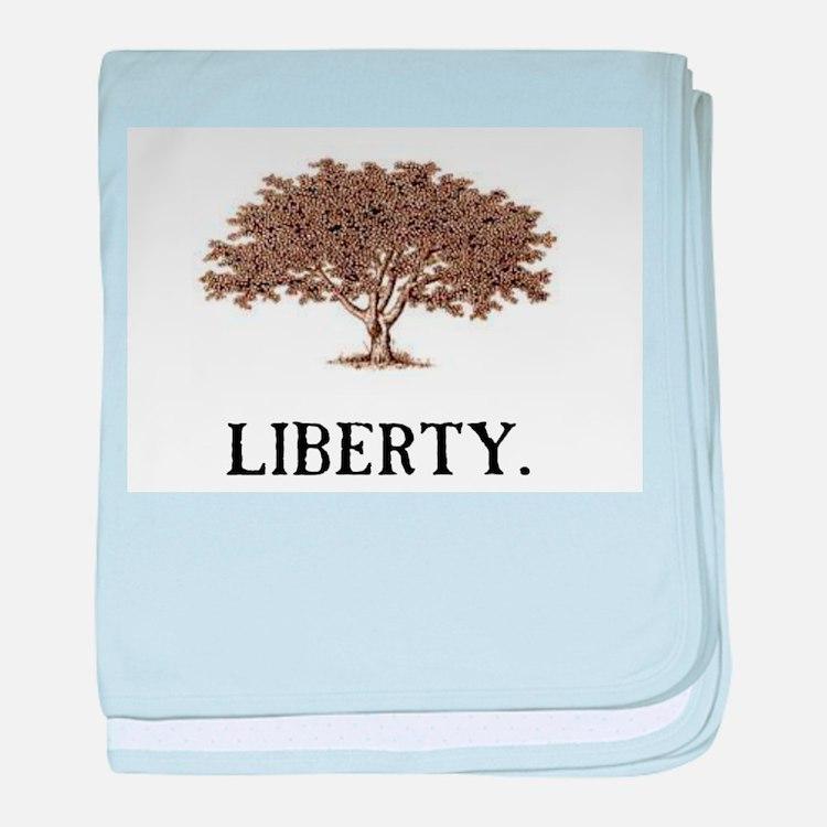The Liberty Tree baby blanket
