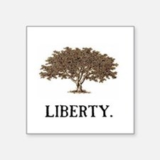 "The Liberty Tree Square Sticker 3"" x 3"""