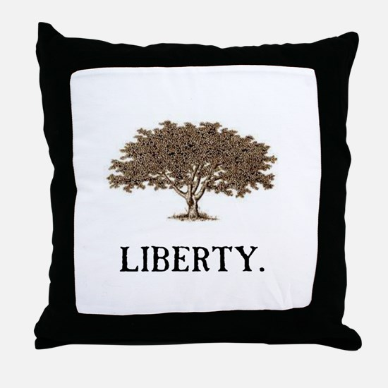 The Liberty Tree Throw Pillow