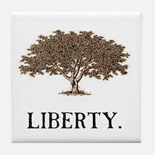 The Liberty Tree Tile Coaster