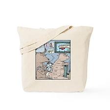 Bovine Tattoos Tote Bag