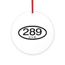 289 c.i.d. Ornament (Round)