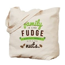 Funny Family Fudge Tote Bag