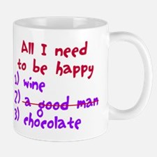 All I need to be happy Mug
