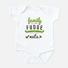 Funny Family Fudge Infant Bodysuit