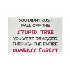 You didn't just fall of the stupid tree Rectangle