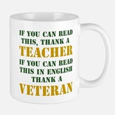 If you can read this thank teacher Mug