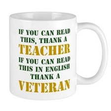If you can read this thank teacher Mug