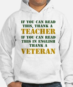 If you can read this thank teacher Hoodie