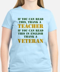 If you can read this thank teacher T-Shirt