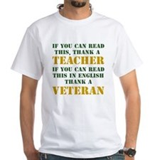 If you can read this thank teacher Shirt