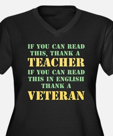 If you can read this thank teacher Women's Plus Si
