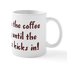 I try to keep the coffee buzz going Mug