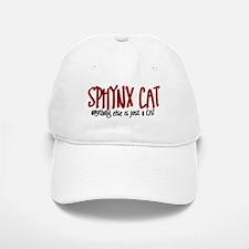 Sphynx Cat JUST A CAT Baseball Baseball Cap