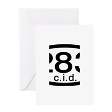 Chevy 283 c.i.d. Greeting Card