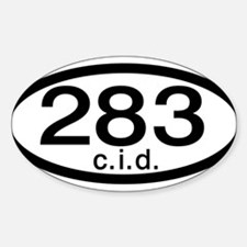 Chevy 283 c.i.d. Decal