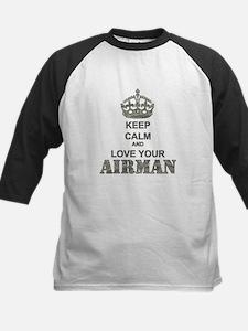 Keep Calm and LOVE Your Airman Tee