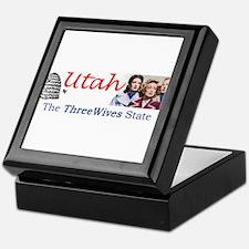Three Wives State Keepsake Box