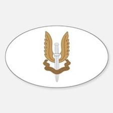 British SAS Sticker (Oval)
