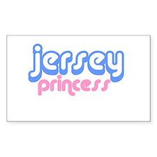 JERSEY PRINCESS SHIRT Rectangle Decal