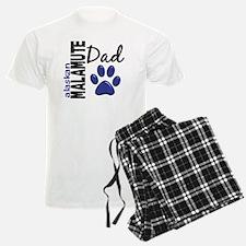 Alaskan Malamute Dad 2 Pajamas