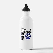 Alaskan Malamute Dad 2 Water Bottle