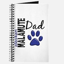 Alaskan Malamute Dad 2 Journal