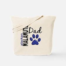 Alaskan Malamute Dad 2 Tote Bag