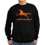chestnut mare horse apparel Sweatshirt (dark)