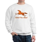 chestnut mare horse apparel Sweatshirt
