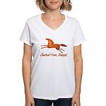 chestnut mare horse apparel Women's V-Neck T-Shirt