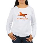 chestnut mare horse apparel Women's Long Sleeve T-
